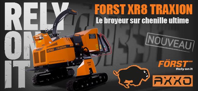 le nouveau XR8 TRAXION disponible chez AXXO