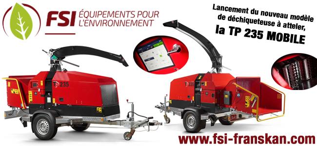 La nouvelle TP 235 Mobile de chez FSI Franskan