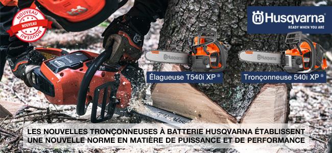 TRONÇONNEUSES À BATTERIE HUSQVARNA 540i XP® / T540i XP®