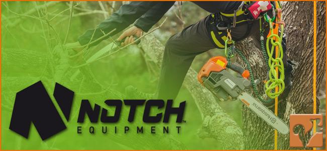 L'équipeur distributeur officiel Notch Equipment :