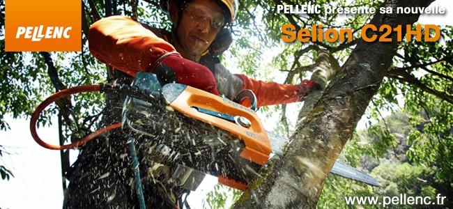 PELLENC présente sa nouvelle Selion C21HD