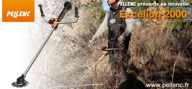 PELLENC présente sa nouvelle Excelion 2000
