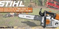 Stihl présente sa nouvelle MS 201 TC-M