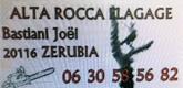 – Alta Rocca Elagage –